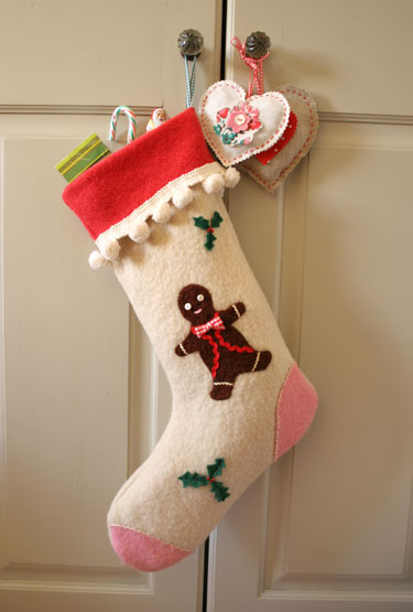 Felted-wool-stocking