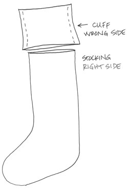 Stocking-how-to-sketch