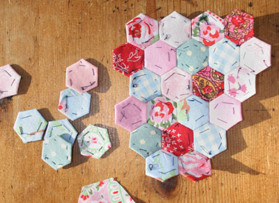 Hexies-stitched