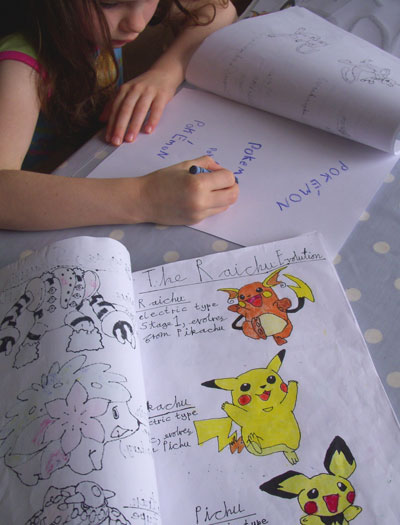 Pokemon-books
