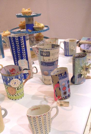 Textile-porcelain