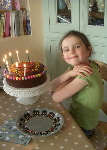 Gracie-&-cake