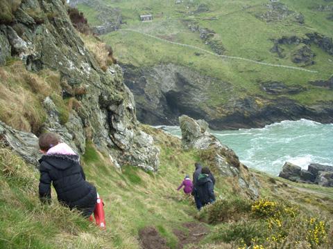 Descending-cliffs
