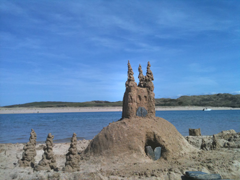 Castle-of-sand