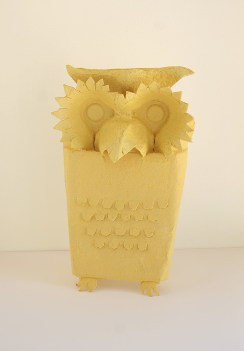 Carved-owl