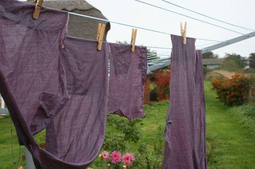 Fabric wet