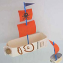 Milk-carton-boats