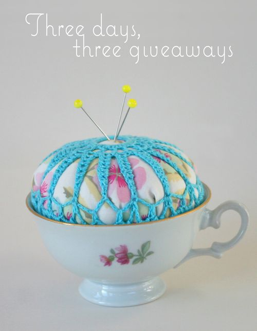 Teacup-pincushion