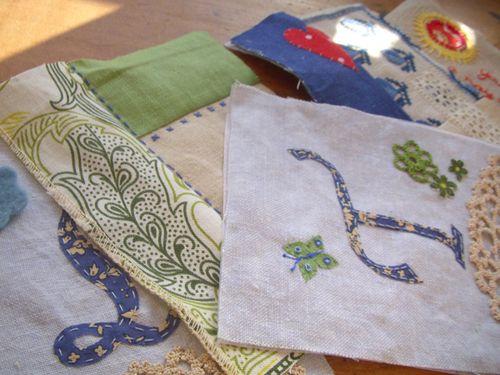 Vintage-stitching