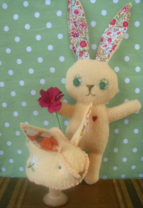 Bunny-pattern,-Japan