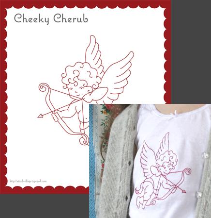 Cheky-Cherub-pattern
