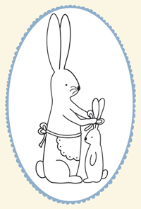 Bunny-pattern,-small