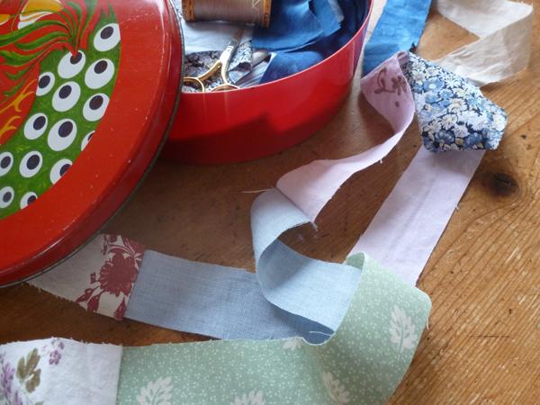 Patchwork mending