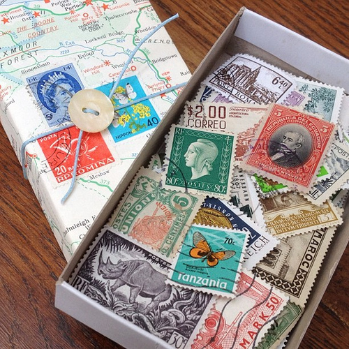 Vintage stamp giveaway