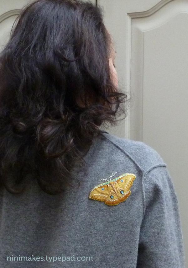 Shoulder-moth