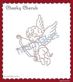 Cherub icon sample